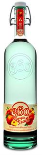 360 Vodka Georgia Peach 1.00l